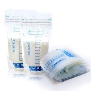 30 Pieces 250ml Milk Freezer Bags Mother Milk Baby Food Storage Breast Milk Storage Bag BPA Free Baby Safe Feeding Bags Feeding