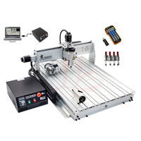 LY 8060Z USB port 4 axis CNC router engraver CNC 8060 with 2.2kw Engraving Drilling Milling Machine