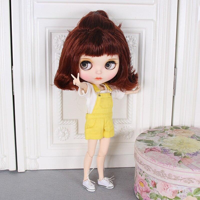 ตุ๊กตาบลายธ์ตุ๊กตา 1/6 Joint Body ใหม่มือวาด matte face สีขาวผิวชุดตุ๊กตา 30 ซม.DIY BJD SD ของเล่นของขวัญมือ group AB-ใน ตุ๊กตา จาก ของเล่นและงานอดิเรก บน   3