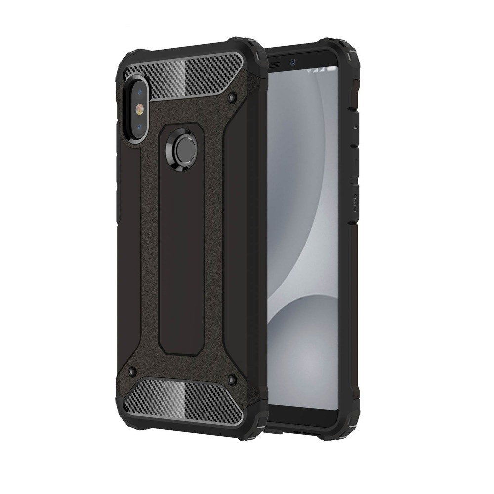 Case for Xiaomi Redmi Note 5 Pro Global A2 Case Plastic 2 in 1 Hybrid - Բջջային հեռախոսի պարագաներ և պահեստամասեր - Լուսանկար 2