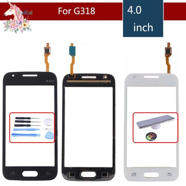 """Dành cho Samsung Galaxy Samsung Galaxy 4.0 """"SM-G318H G318h G318 Bộ Số Hóa Màn Hình Cảm Ứng Cảm Biến Ngoài Kính Cường Lực Bảng Điều Khiển Thay Thế"""
