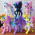 14 см Коллекция Модель Игрушки Дети Подарок Аниме модель Funko ПОП прекрасный Радуга Лошадь Единорог Пони Принцесса Луна ПВХ Игрушки Для девушки