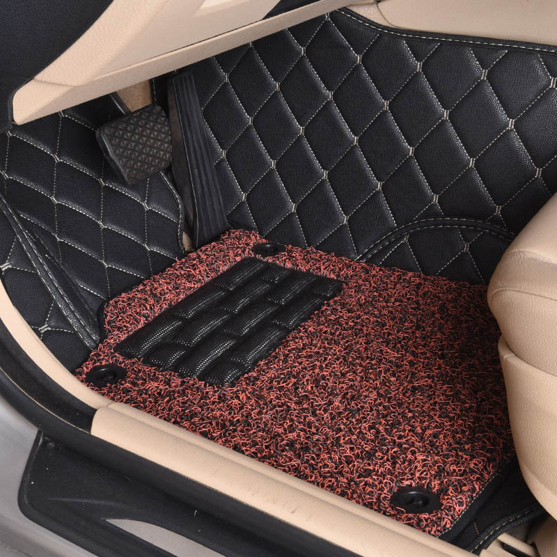 Пользовательские автомобильные коврики для Mercedes Benz C W204 W205 E W211 W212 W213 S класс cla GLC ml GLE GL ковер Авто Стайлинг вкладыши