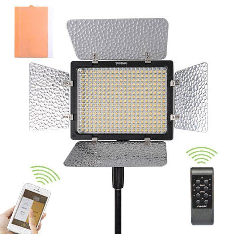 Yongnuo YN300 III 3200K-5500K Pro LED Video Light Hard Battery Case For DSLR Camera /Camcorder