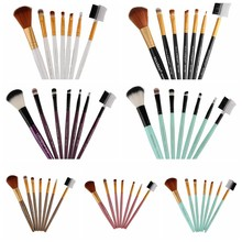 7Pcs Makeup Brushes Set Lip Kit pinceis de maquiagem Foundation Powder Highlighter Eyeshadow Naked Palette Brush Beauty Tools
