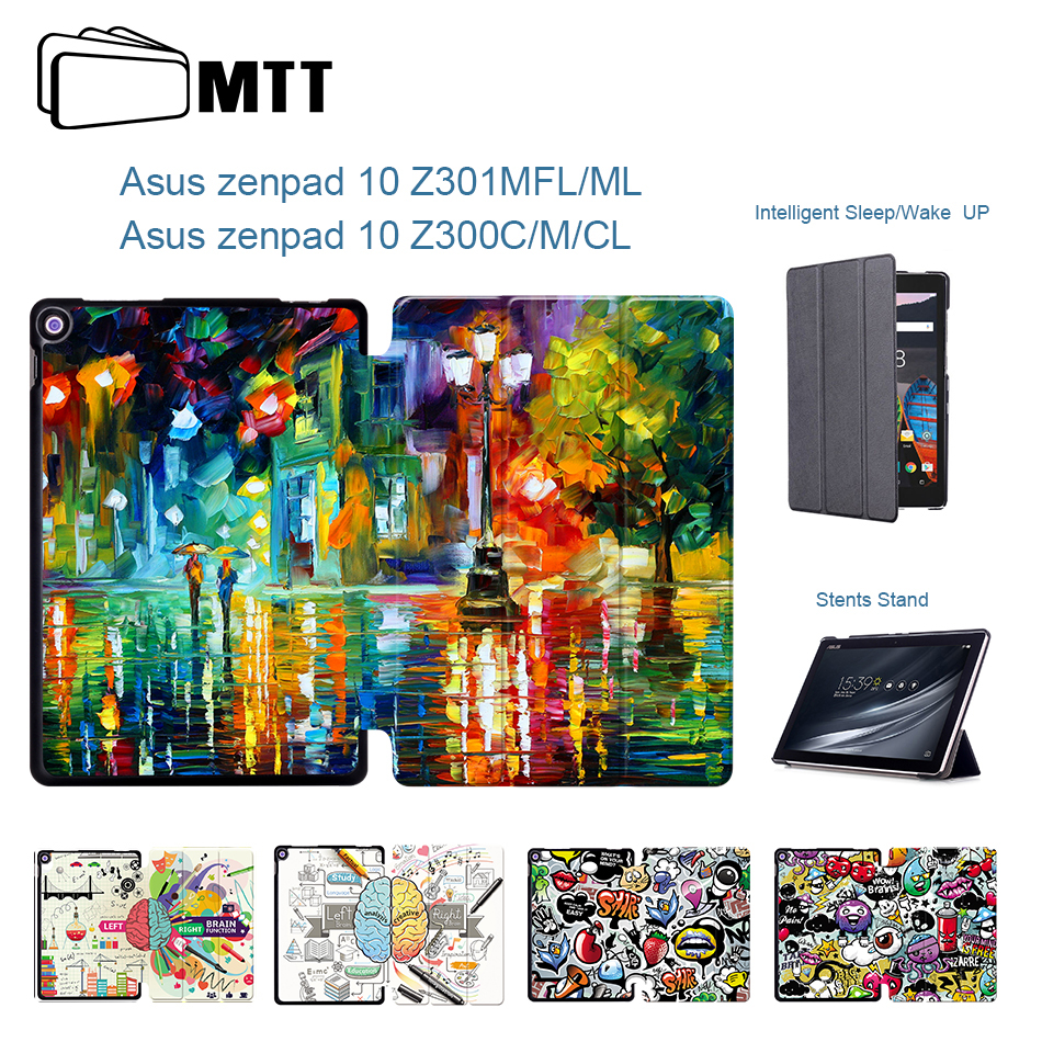 MTT For Asus Zenpad 10 Z300 Z300CL Z300CG Z300C/M Z300CNL Tablet Case PU Leather Stand Cover for asus zenpad Z301 10.1 inch