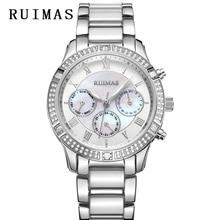Women Luxury Watches Ladies Top Brand Fashion Quartz Watch Women's Elegance Clock RUIMAS Dress Female Jewels Watch Montre Femme