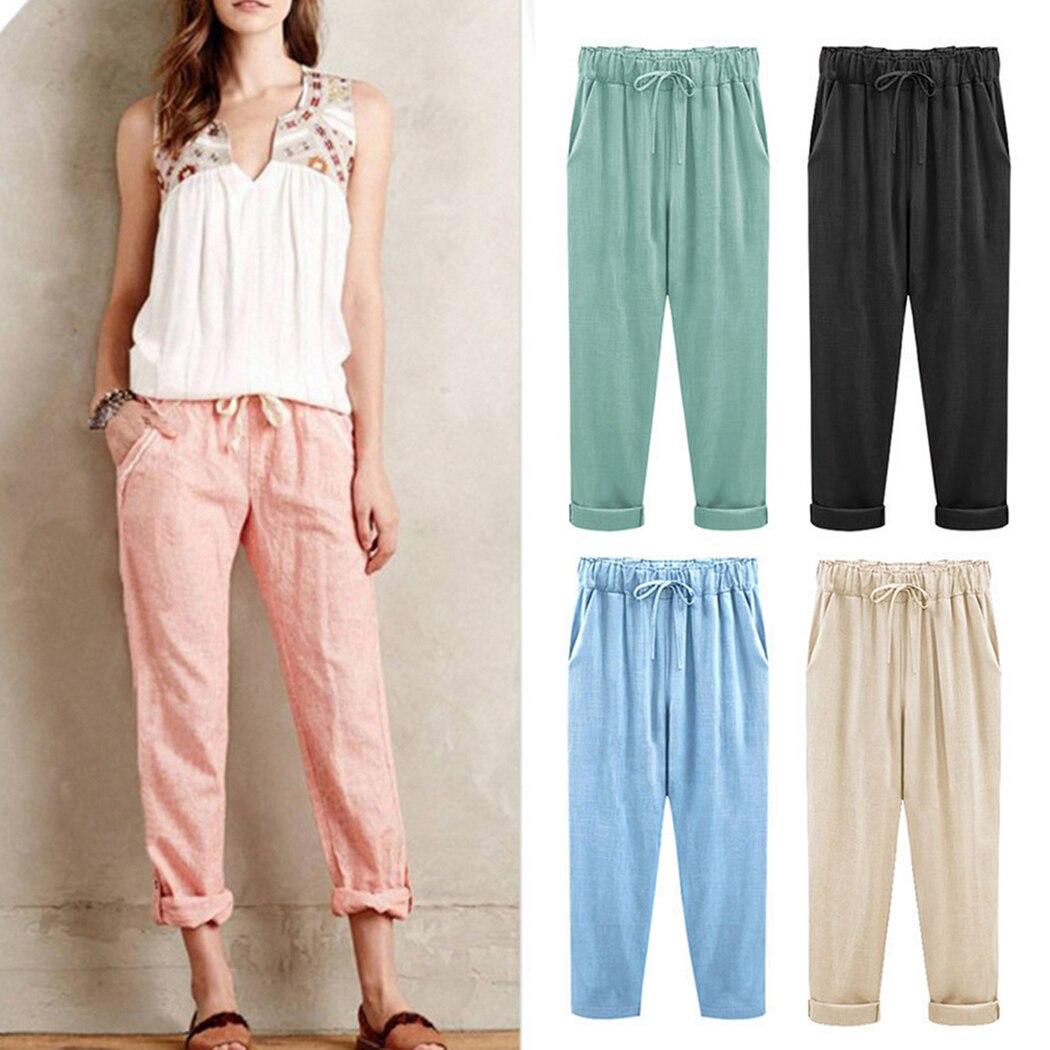 eleganckie spodnie z sznurkiem w pasie