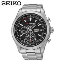 SEIKO Watch Steel Belt Men'S Chronograph Leisure Quartz Watch SPC127J1