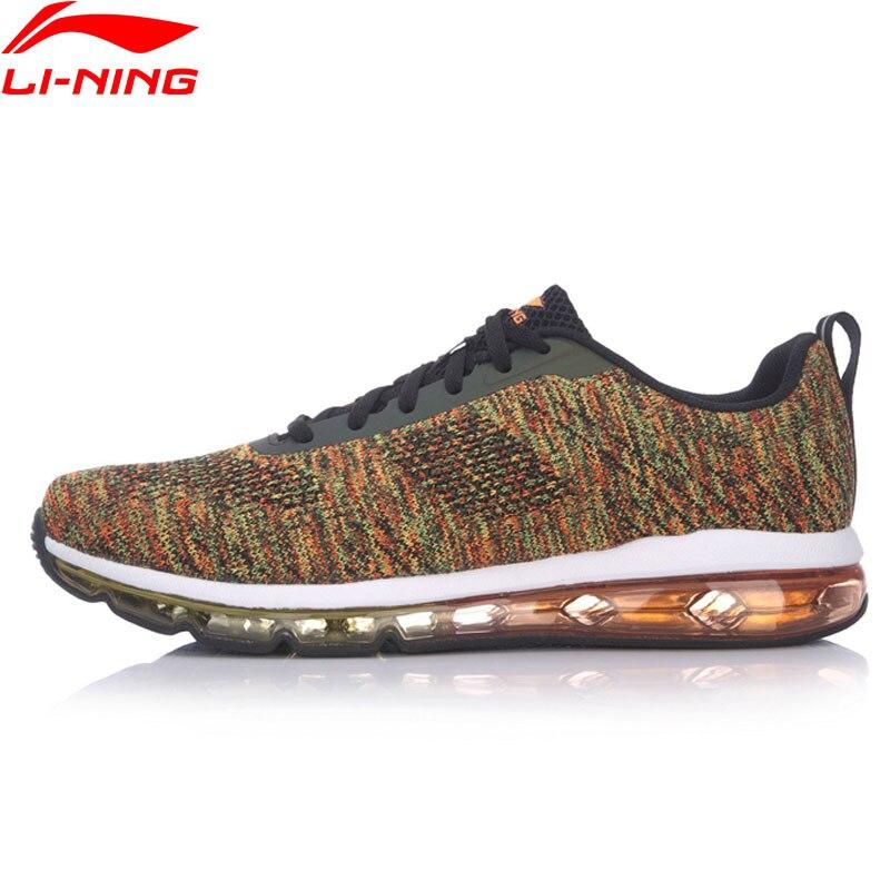 Li-Ning Men The Trend Walking Shoes AIR WALKER Cushion Heritage LiNing Sports Shoes Breathable Sneakers AGCM097 YXB050 original li ning men professional basketball shoes