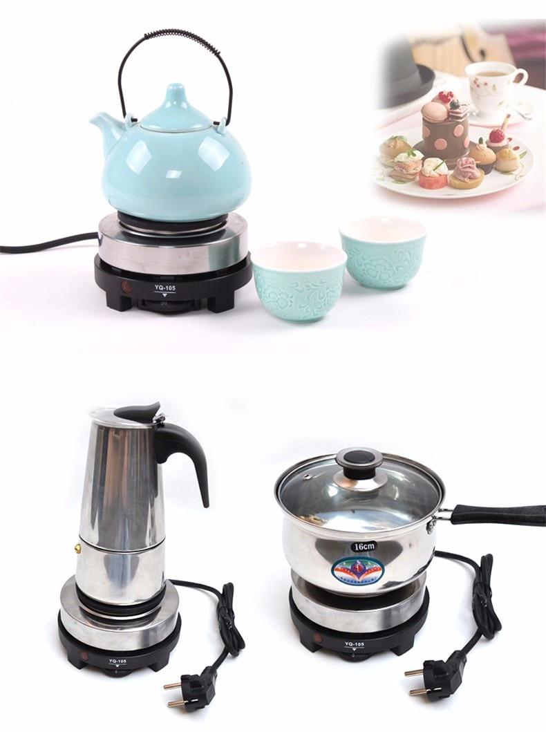 Uncategorized Portable Kitchen Appliances aliexpress com buy hotplate mini stove electric kitchen appliances hot plates multifunction cooking plate portable coffee heate