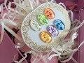 Nueva llegada de 6 colores de bienes seco de flores de gel uv. 3D flor del arte del clavo gel uv, nail art uv gel