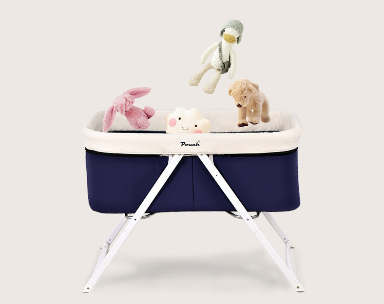 Pouch Baby Crib European style Baby kids bed multifunctional Travel cradle Crib multi function shaker foldable cradle bed