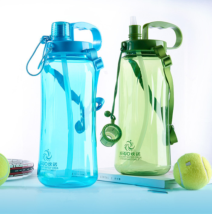 1500ml/2000ml Sports Water Bottles With Straw Gym Fitness Kettle Outdoor Camp Picnic Bicycle Cycling Sport Bottles Eco Friendly-in Water Bottles from Home & Garden on AliExpress