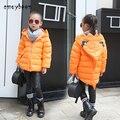 Niñas abrigo de invierno los niños 2016 reima abajo chaqueta para chicas adolescentes ropa de niños chaquetas de invierno bebé manteau hiver fille parka