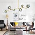 Большая люстра  освещение  золотой заподлицо  потолочный светильник  кухонный остров  светодиодные светильники  бар  постепенное  серая сте...