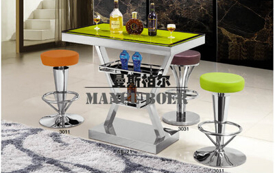 Glorious European Fashion Stainless Steel Bar Chair To Restore Ancient Ways Jewelry Chair Recreational Chair At The Front Desk 004 Bar Furniture