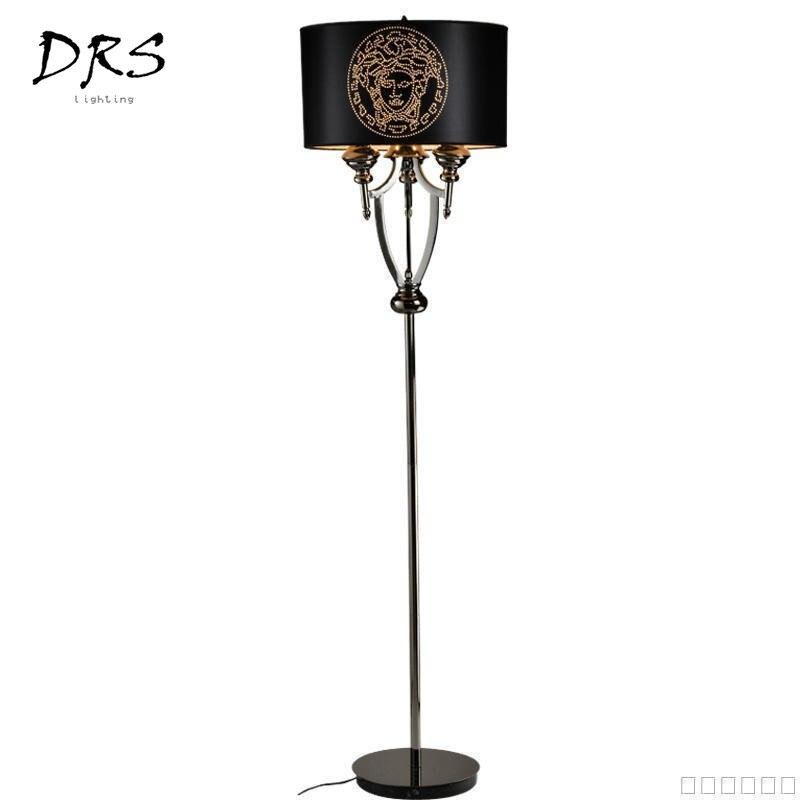 Lampadaire classique postmoderne design minimaliste créatif lampes sur pied chambre salon lampadaire Lampara luminaires