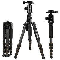 Original Zomei Z699C Camera Stand Monopod Tripod Stand Ball Head Holder For Digital DSLR Camera Top Quality Carbon Fiber Cameras