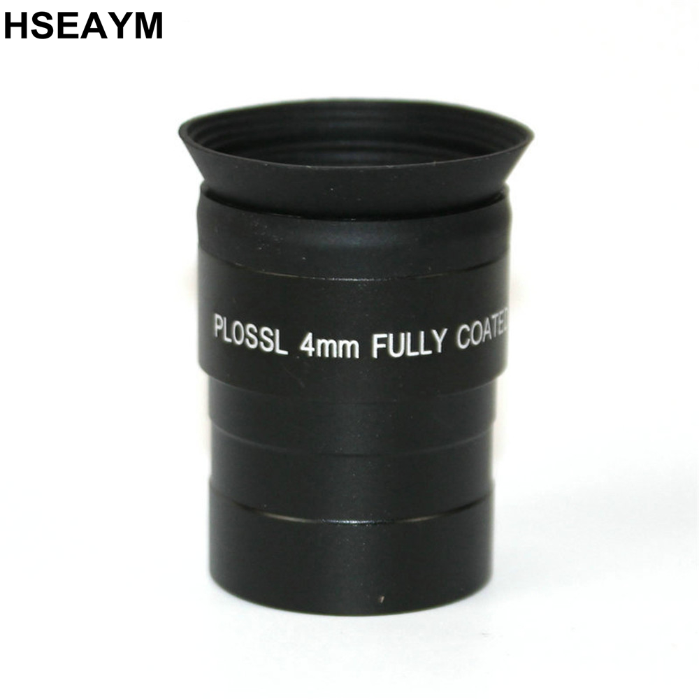 1.25 pouces (31.7mm) Optique En Verre Métal Astronomique Télescope Oculaire Oculaire Longueur Focale PLÖSSL 4mm