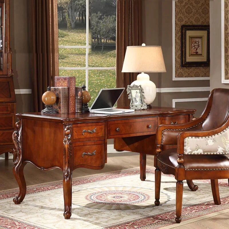 Promoci n de escritorios de madera maciza compra - Escritorios madera maciza ...