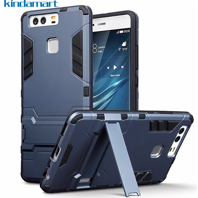 newest 418b8 3b7dd US $2.72 9% OFF|Armor Rugged Case for Huawei P9 Lite P10 Lite P8 Lite 2017  Silicone Bumper Cover Case on Honor 6C Pro 6A 5C 5X 7X Honor 8 Lite-in ...