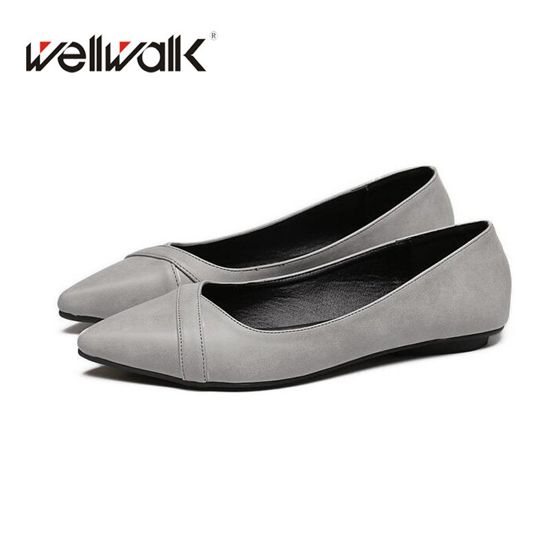 Ladies Shoes 2018 Fashion Ballerinas Pointed Toe Ballet Flats Spring&Autumn Casuel Women Flat shoes Fashion Shallow Women Shoes drfargo spring summer ladies shoes ballet flats women flat shoes woman ballerinas pointed toe sapato womens waved edge loafer