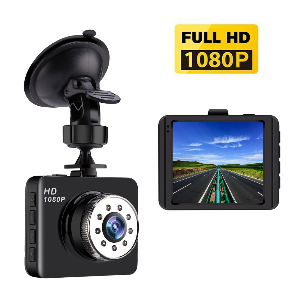 Mini Dash Cam HD 1080P Car Camera with 140 Wide Angle, G-sensor, Loop Recording,Park Monitor,Motion Detection