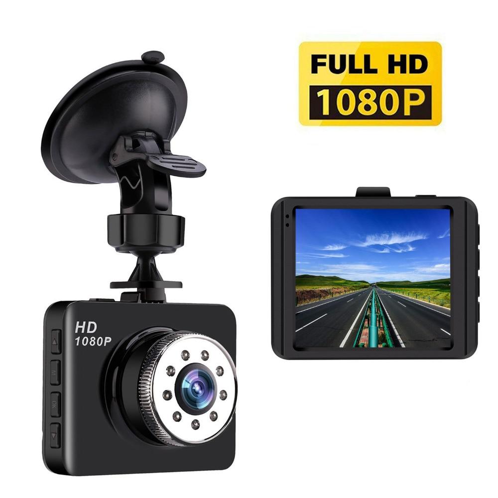 Mini Dash Cam HD 1080P Car Camera with 140 Wide Angle, G-sensor, Loop Recording,Park Monitor,Motion Detection