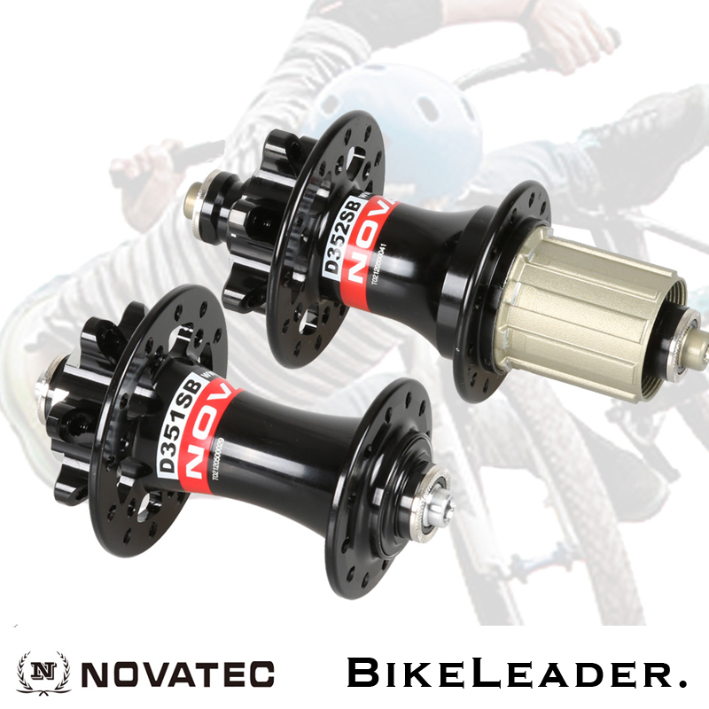 Novatec D351SB D352SB Road Bike Hubs Disc Brake 4 Sealed Bearing 24 28 Holes 130mm Black Color Bicycle Hub novatec d741sb d742sb mtb mountain bike hub bearing disc brake bicycle hubs 24 28 32 holes 32h black red color