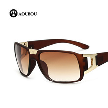 Hot Trendy Black Goggle Sunglasses Men Women Brand Designer Sports Sun Glasses UV400 Driving Gafas De Sol