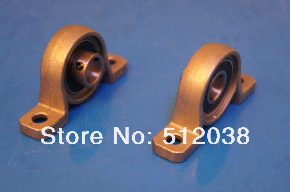 10 шт./лот KP001 мин цинк подушка набор винт блок подшипник вал размер 12 мм Установленный блок подшипника