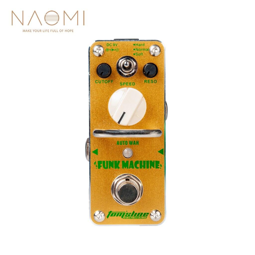 NAOMI Aroma Guitar Effect Pedal AROMA AFK 3 Funk Machine Auto Wah Electric Guitar Effect Pedal