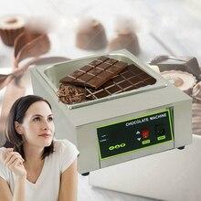 2016 Free Shipping Digital Chocolate Melting Machine Stainless Steel Chocolate Machine With 8 KG Capacity