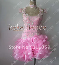 Free shipping,100% New Competition fringe Latin dance dress,salsa dress,KAKA-L225
