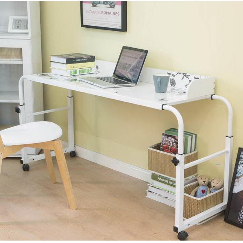perezoso cama con escritorio del ordenador porttil de escritorio simple casa cama escritorio simple con doble cama mesa