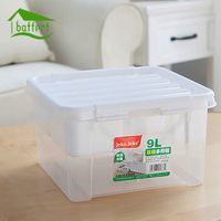 Home Transparent Plastic Storage Box Large Capacity Double Layers Multi purpose Sundries Container First Aid Kit Medicine Box 9L