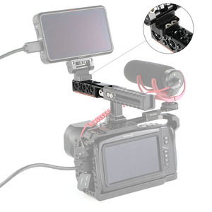 Image 4 - SmallRig DSLR Camera Cage Handle Grip Top Handle Straight Extension With 1/4 Thread Holes And Arri Locating Holes HTR2297