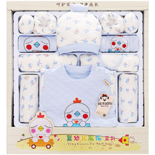 hot deal buy 13 pcs/set 100% cotton summer baby clothes full months baby clothing baby's sets 0-3 months infants clothes suit for baby gift