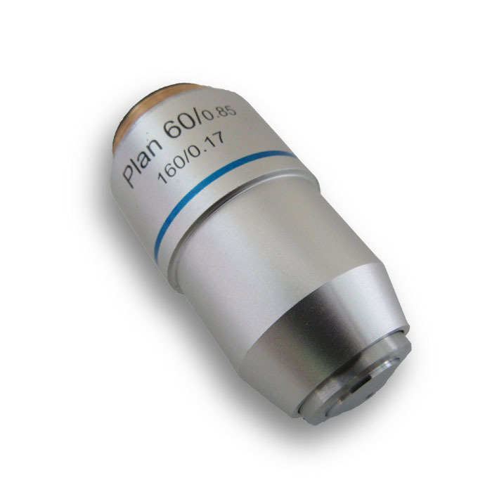 60X objective Plan Objective Achromatic Objective for Student Biological Microscope Objective lens Optical lens