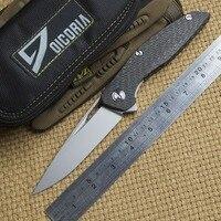 Dicoria Флиппер F111 S35VN лезвие тактический складной нож Открытый выживания углеродное волокно Отдых на природе Охота Карманные Ножи EDC инструме...