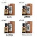 Известный бренд AKARZ 100% Pure Rose Касторовое lemon Ладан Эфирные масла Пакет Для Ароматерапии, массаж, Спа, ванна 4 шт./лот