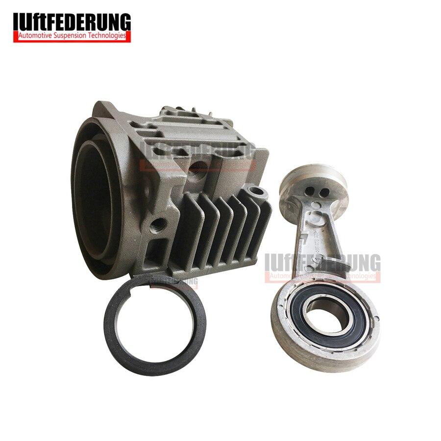 Luftfederung Air Suspension Air Compressor Cylinder Head With Piston O Ring For BMW X5 E53 Audi A6 Q7 L322 4L0698007A
