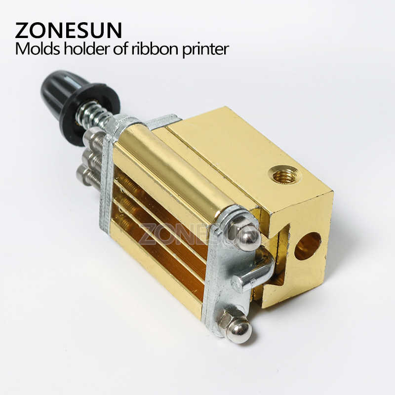 ZONESUN держатель формы ленточный принтер DY8 устройство кодирования тепловая головка штамповки принтер теплового блока HP241 принтер письмо высечки
