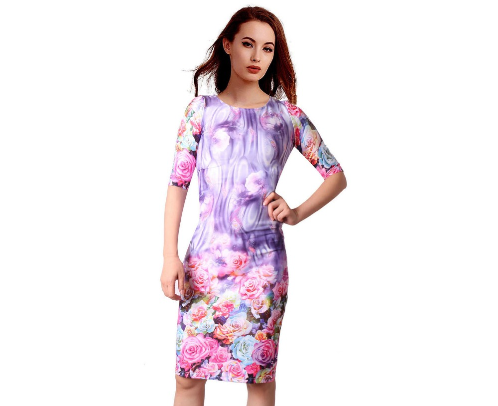 HTB1CBAdSFXXXXb3XpXXq6xXFXXXE - FREE SHIPPING Women Dress Floral Print JKP199
