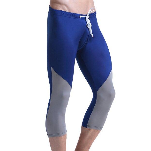 New Mens Shorts Casual Leisure  Men Shorts Tights Slim fit Patchwork Bermuda Masculina Male Short Pants