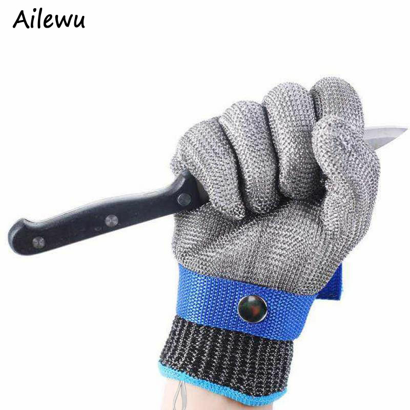 Safety Cut Proof Gloves Durable Quality Stab Resistant Stainless Steel Metal Mesh for Butcher Glove  Level 5 Protection FST001Safety Cut Proof Gloves Durable Quality Stab Resistant Stainless Steel Metal Mesh for Butcher Glove  Level 5 Protection FST001