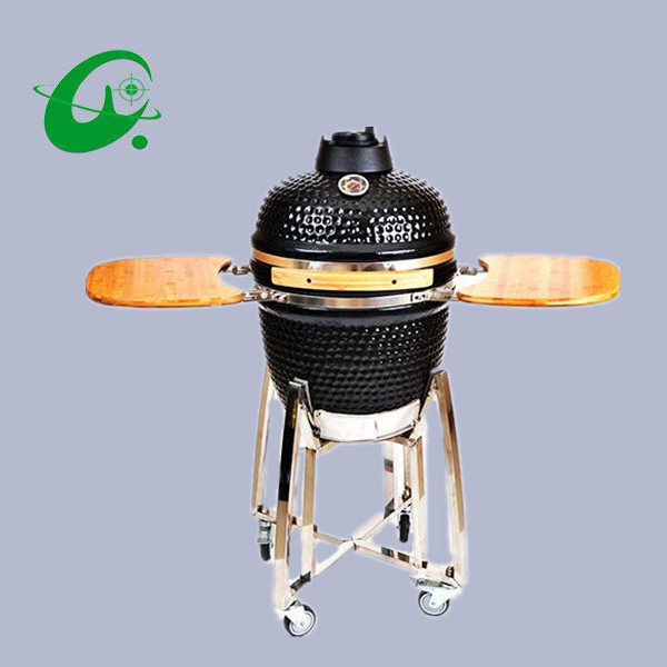 18inch Durable barbecue grill for outdoor, BBQ grill with charcoal bbq smoker  barbecue tools outdoor barbecue hand blower fan grill accessories double 11