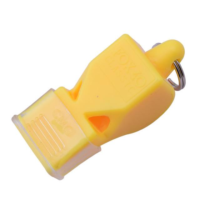 1Pcs Whistle Plastic Fox 40 Soccer Football Basketball Hockey Baseball Sports Referee Whistle Survival Outdoor Like 3