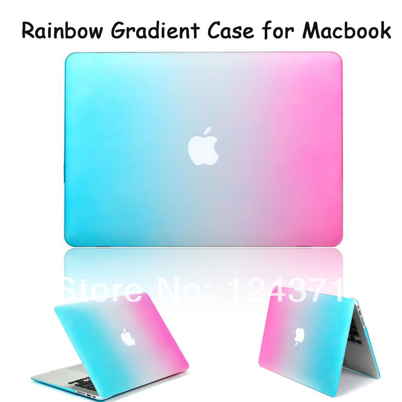 Case For Macbook 13.3 Pro Retina Rainbow Protective Colorful Laptop Case for Macbook air pro13.3 A1278 A1369 A1466 A1502 A1425